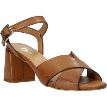 Scarpe Donna Sandali Grace Shoes 380045 Marrone
