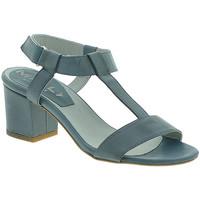 Scarpe Donna Sandali Mally 3895 Blu