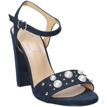Scarpe Donna Sandali Grace Shoes 1396 Blu