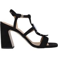 Scarpe Donna Sandali Grace Shoes 2384008 Nero