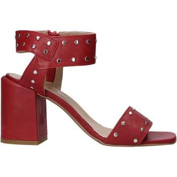 Scarpe Donna Décolleté Mally 6278B Rosso