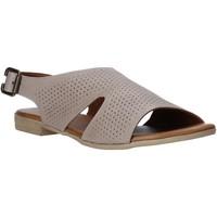 Scarpe Donna Sandali Bueno Shoes 9L2702 Grigio
