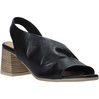 Scarpe Donna Sandali Bueno Shoes 9N1300 Nero