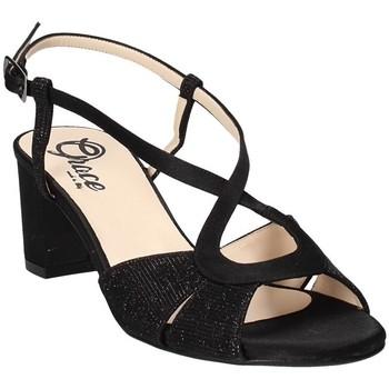 Scarpe Donna Sandali Grace Shoes 4011 Nero