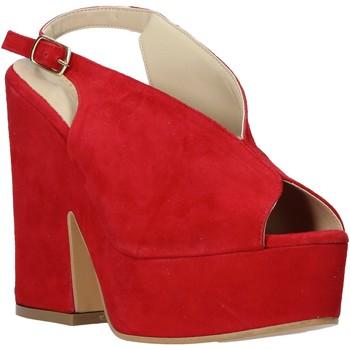 Scarpe Donna Sandali Esther Collezioni ALBA 107 Rosso