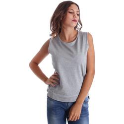 Abbigliamento Donna Top / T-shirt senza maniche Fornarina BE17T524F42990 Grigio