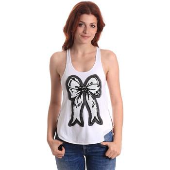 Abbigliamento Donna Top / T-shirt senza maniche Fornarina BE17T517JG0709 Bianco