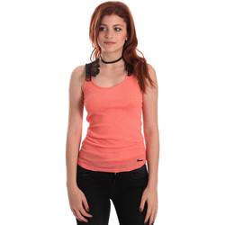 Abbigliamento Donna Top / T-shirt senza maniche Fornarina SE175J75H26368 Arancio