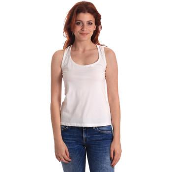 Abbigliamento Donna Top / T-shirt senza maniche Fornarina SE175L04JG0709 Bianco