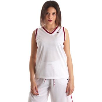 Abbigliamento Donna Top / T-shirt senza maniche Champion 111382 Bianco