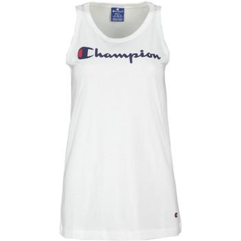 Abbigliamento Donna Top / T-shirt senza maniche Champion 111791 Bianco