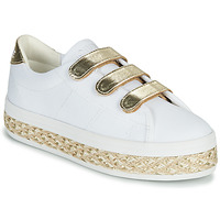Scarpe Donna Sneakers basse No Name MALIBU STRAPS Bianco / Oro