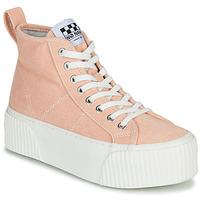 Scarpe Donna Sneakers alte No Name IRON MID Rosa