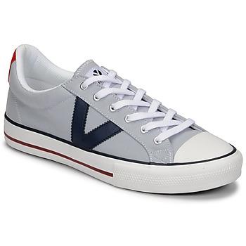 Scarpe Uomo Sneakers basse Victoria TRIBU LONA CONTRASTE Grigio