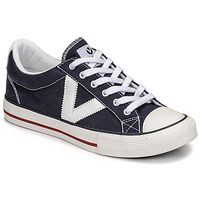 Scarpe Sneakers basse Victoria TRIBU LONA CONTRASTE Blu