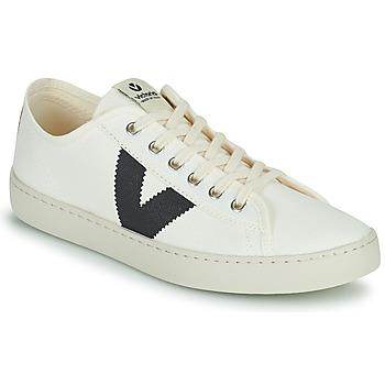 Scarpe Donna Sneakers basse Victoria BERLIN LONA GRUESA Bianco / Blu
