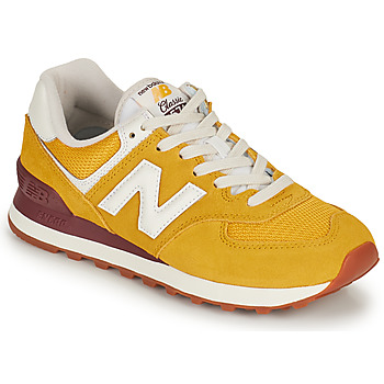 Scarpe Donna Sneakers basse New Balance 574 Giallo