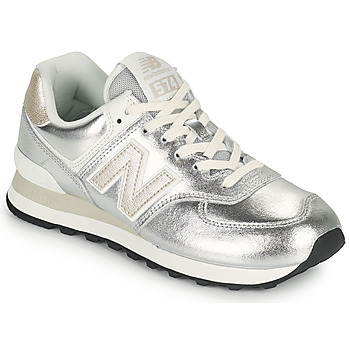 Scarpe Donna Sneakers basse New Balance 574 Argento