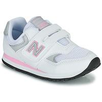 Scarpe Bambina Sneakers basse New Balance 393 Bianco / Rosa