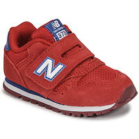 Scarpe Bambino Sneakers basse New Balance 373 Rosso