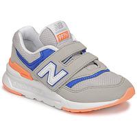 Scarpe Bambino Sneakers basse New Balance 997 Grigio / Blu