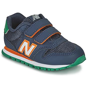 Scarpe Bambino Sneakers basse New Balance 500 Blu / Arancio