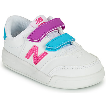 Scarpe Bambina Sneakers basse New Balance COURT Bianco / Rosa