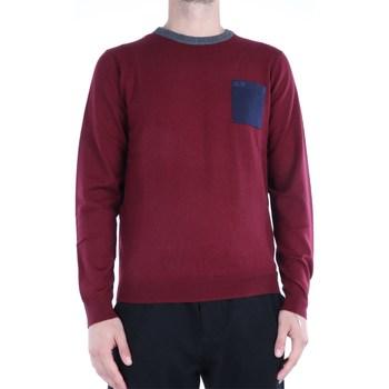 Abbigliamento Uomo Maglioni Sun68 K40138 Girocollo Uomo Bordeaux Bordeaux