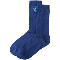 Accessori Uomo Calzini Santa Cruz Screaming mini hand sock Blu