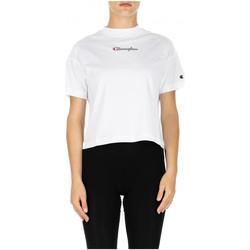 Abbigliamento Donna T-shirt & Polo Champion CREWNECK T-SHIRT ww001-wht