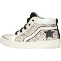 Scarpe Bambina Sneakers alte Balocchi 606526 Platino