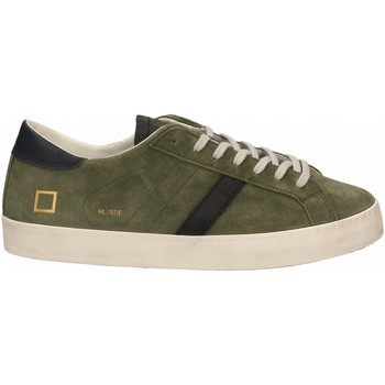 Scarpe Uomo Sneakers Date HILL LOW SUEDE army