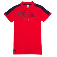 Abbigliamento Bambino Polo maniche corte Redskins PO180117-RED Rosso