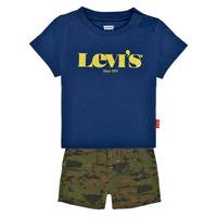 Abbigliamento Bambino Completo Levi's 6EC678-U29 Multicolore