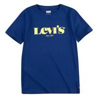 Abbigliamento Bambino T-shirt maniche corte Levi's GRAPHIC TEE Blu