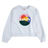 Abbigliamento Bambina Felpe Levi's 3ED410-001 Bianco