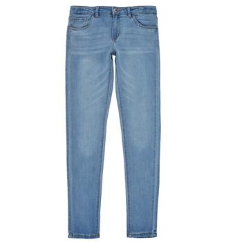 Abbigliamento Bambina Jeans skynny Levi's 710 SUPER SKINNY Blu