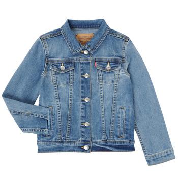 Abbigliamento Bambina Giacche in jeans Levi's 4E4388-M0K Blu
