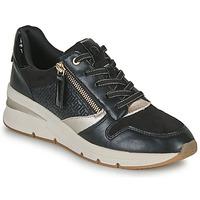 Scarpe Donna Sneakers basse Tamaris REA Nero / Oro