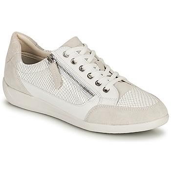 Scarpe Donna Sneakers basse Geox D MYRIA A Bianco