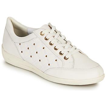 Scarpe Donna Sneakers basse Geox D MYRIA H Bianco / Oro