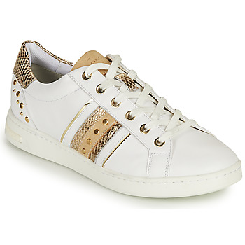 Scarpe Donna Sneakers basse Geox D JAYSEN A Bianco / Oro