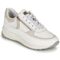 Scarpe Donna Sneakers basse Geox D AIRELL A Bianco / Beige