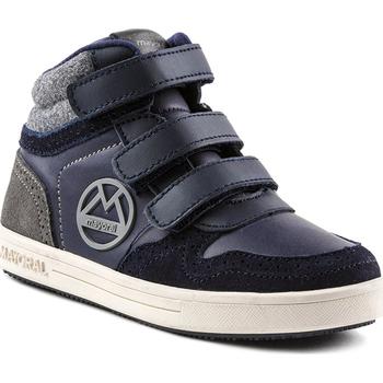 Scarpe Unisex bambino Sneakers alte Mayoral ATRMPN-22444 Blu