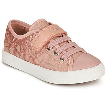 Scarpe Bambina Sneakers basse Geox JR CIAK GIRL Rosa
