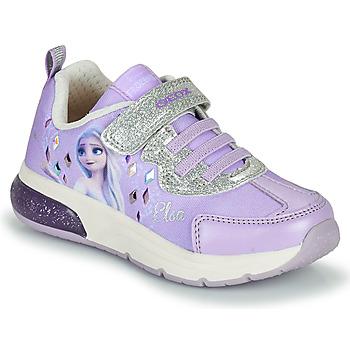 Scarpe Bambina Sneakers basse Geox SPACECLUB GIRL Viola