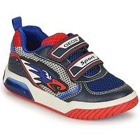 Scarpe Bambino Sneakers basse Geox J INEK BOY B Blu / Rosso