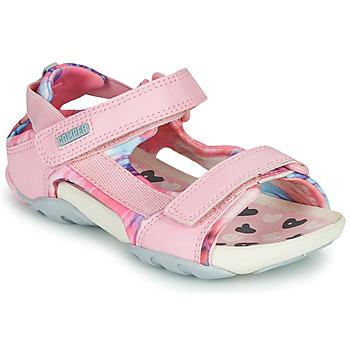 Scarpe Bambina Sandali Camper OUS Rosa