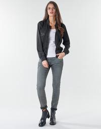 Abbigliamento Donna Jeans skynny G-Star Raw 3301 Low Skinny Wmn Dk