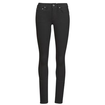 Abbigliamento Donna Jeans skynny G-Star Raw Midge Zip Mid Skinny Wmn Pitch / Black